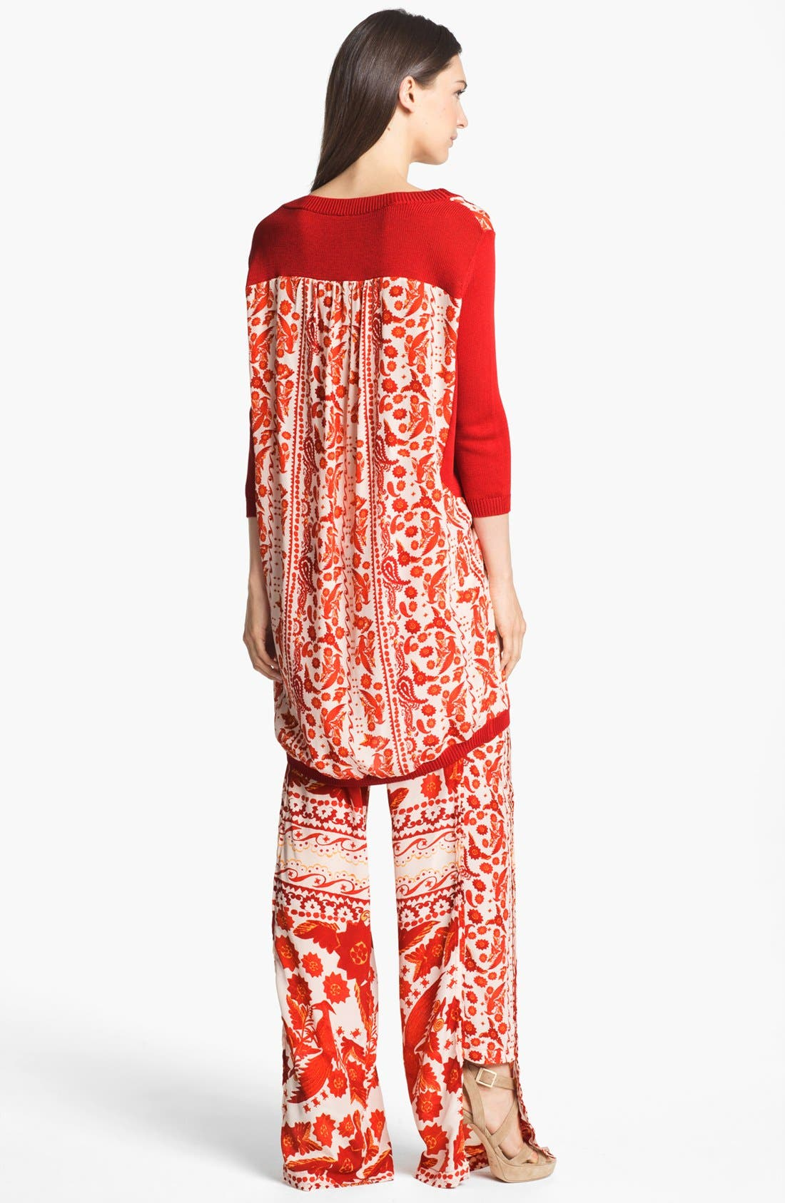 Alternate Image 5  - Rebecca Minkoff 'Jai' Mixed Media Tunic Dress