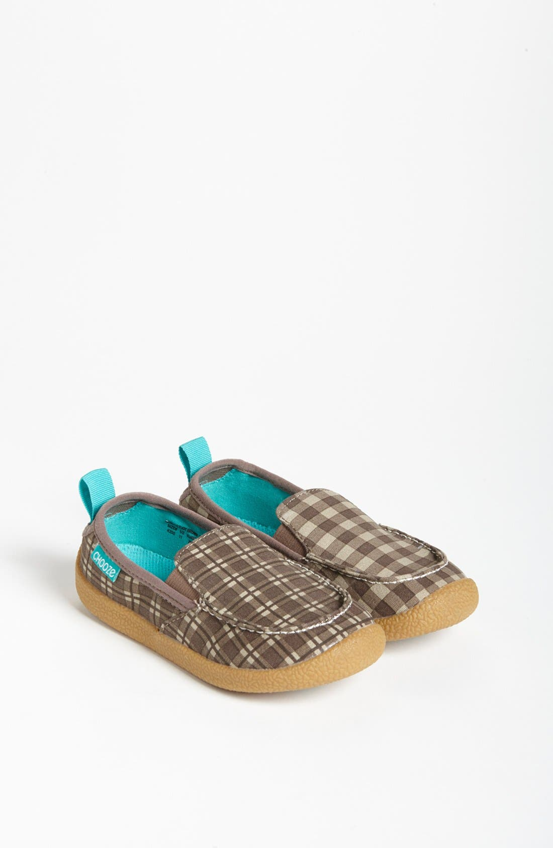 Main Image - CHOOZE 'Scout - Study Brown' Slip-On Loafer (Toddler, Little Kid & Big Kid)