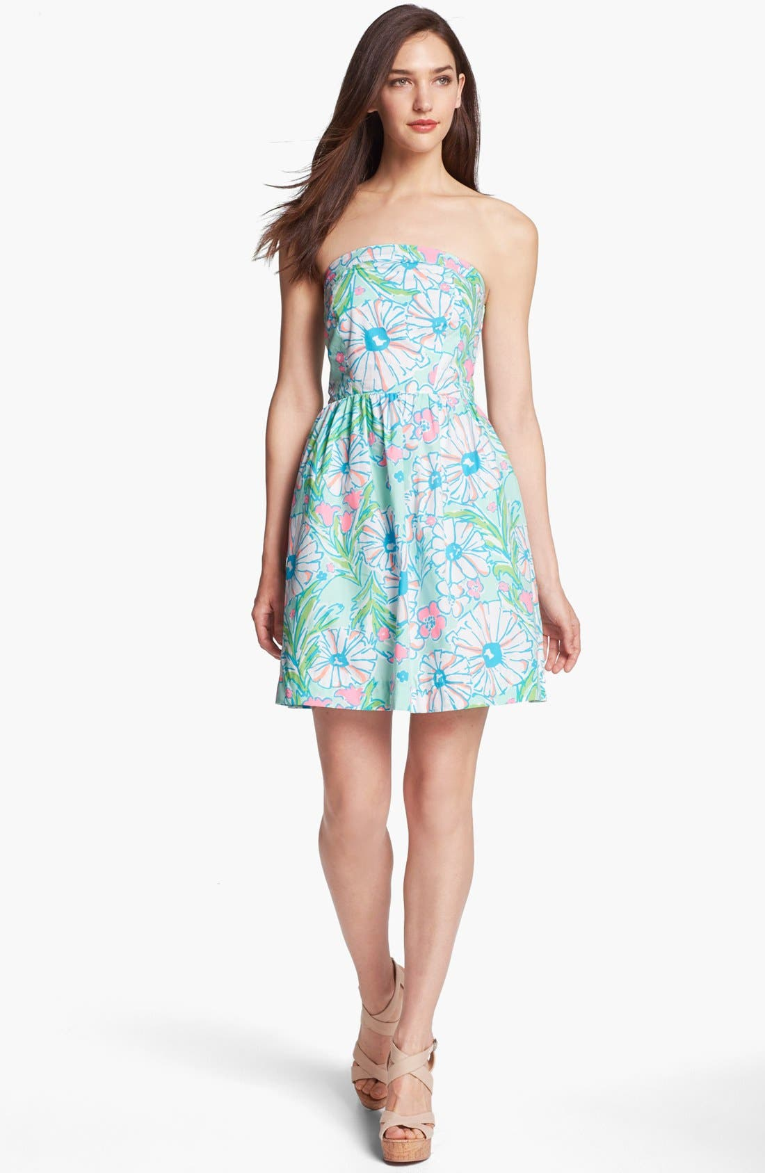 Alternate Image 1 Selected - Lilly Pulitzer® 'Chandie' Strapless Dress
