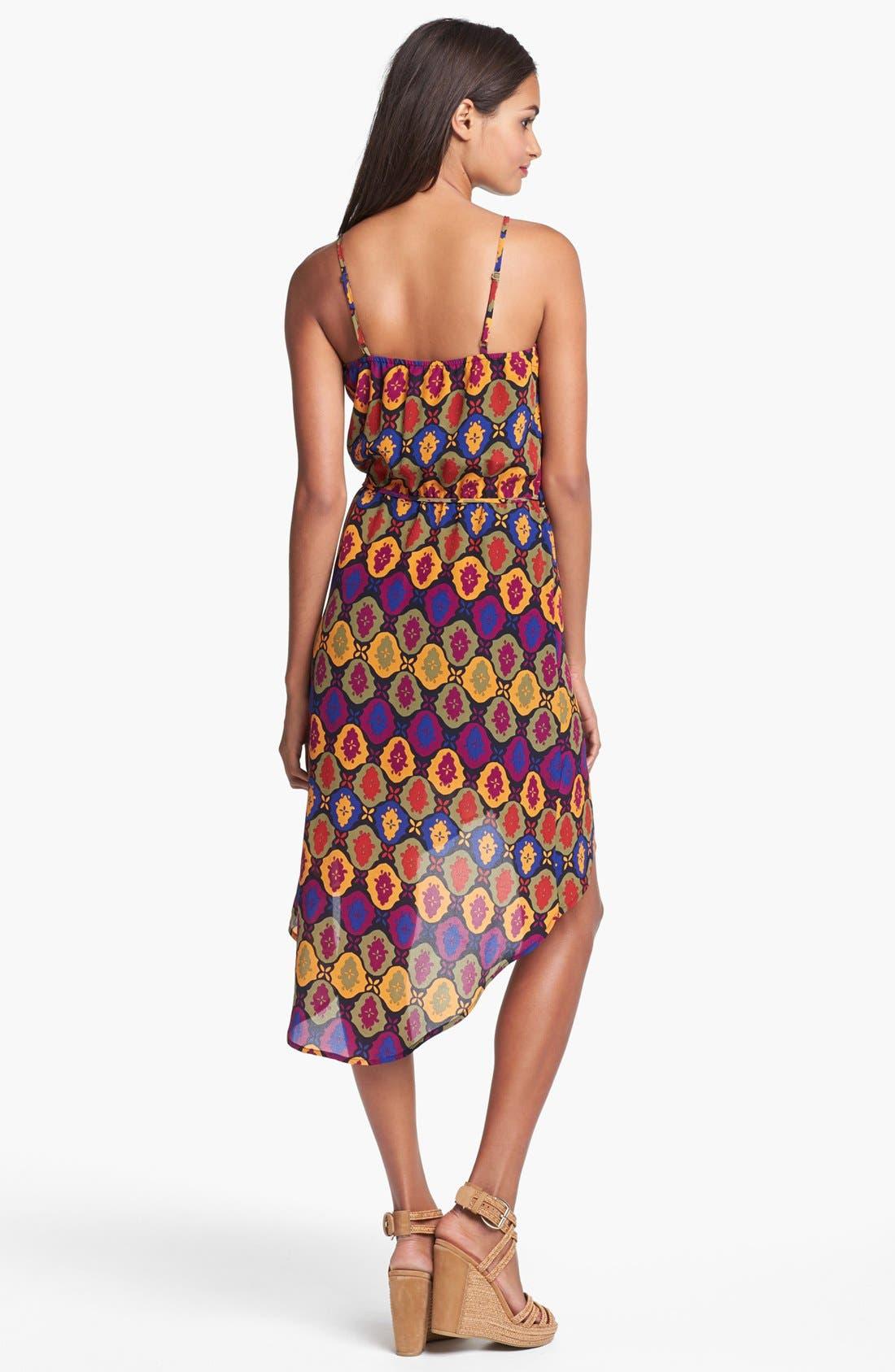Alternate Image 2  - VELVET HEART 'Mila' Print Silk High/Low Dress