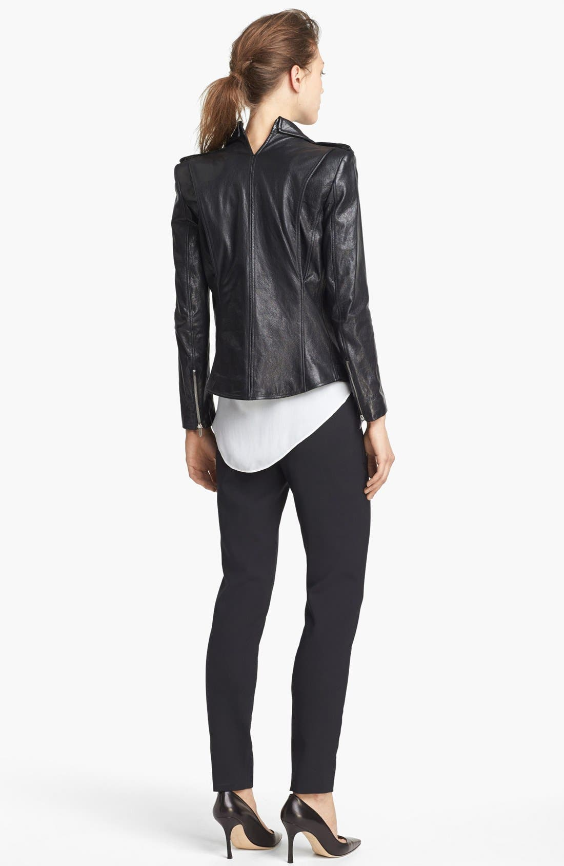 Alternate Image 4  - Theyskens' Theory 'Jiker Nomi' Leather Jacket