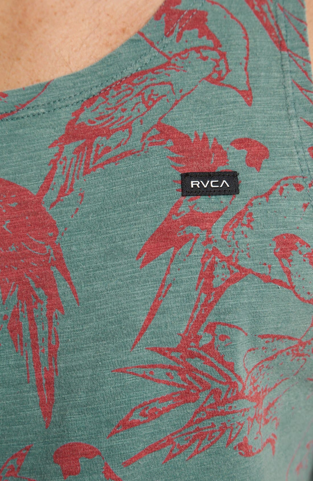 Alternate Image 3  - RVCA 'Squawker' Tank Top