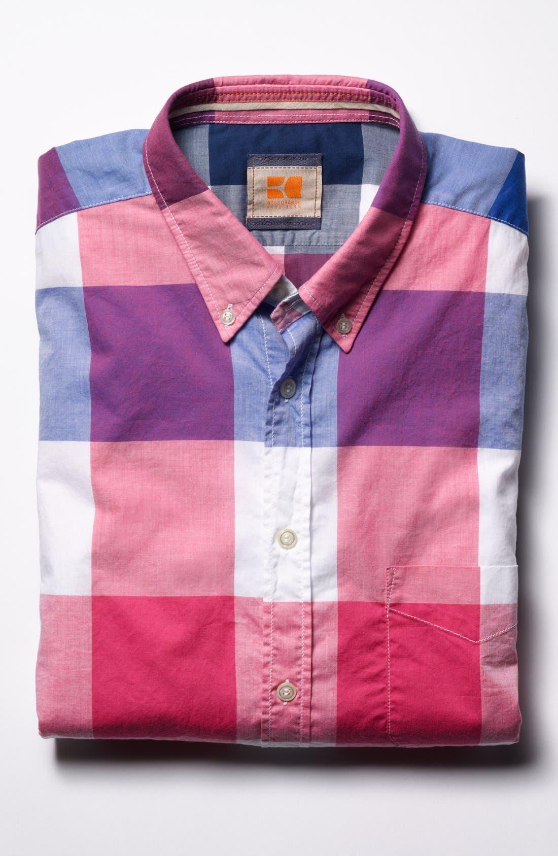 Alternate Image 4  - BOSS Orange 'Equator' Sport Shirt