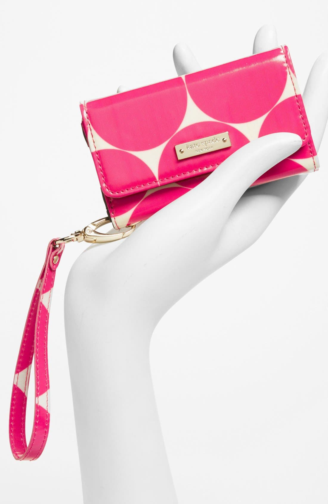 Alternate Image 4  - kate spade new york 'deborah dot' iPhone 5 & 5S wristlet