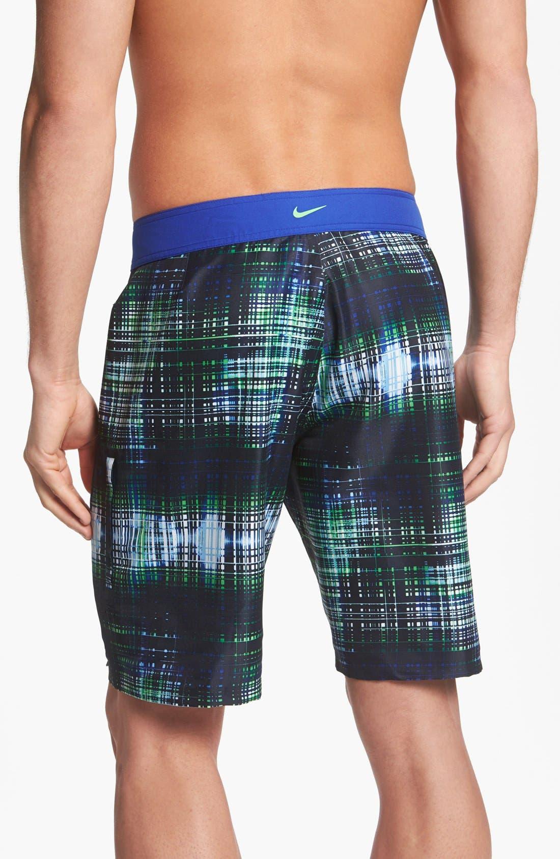 Alternate Image 2  - Nike 'Data Plaid' Volley Shorts