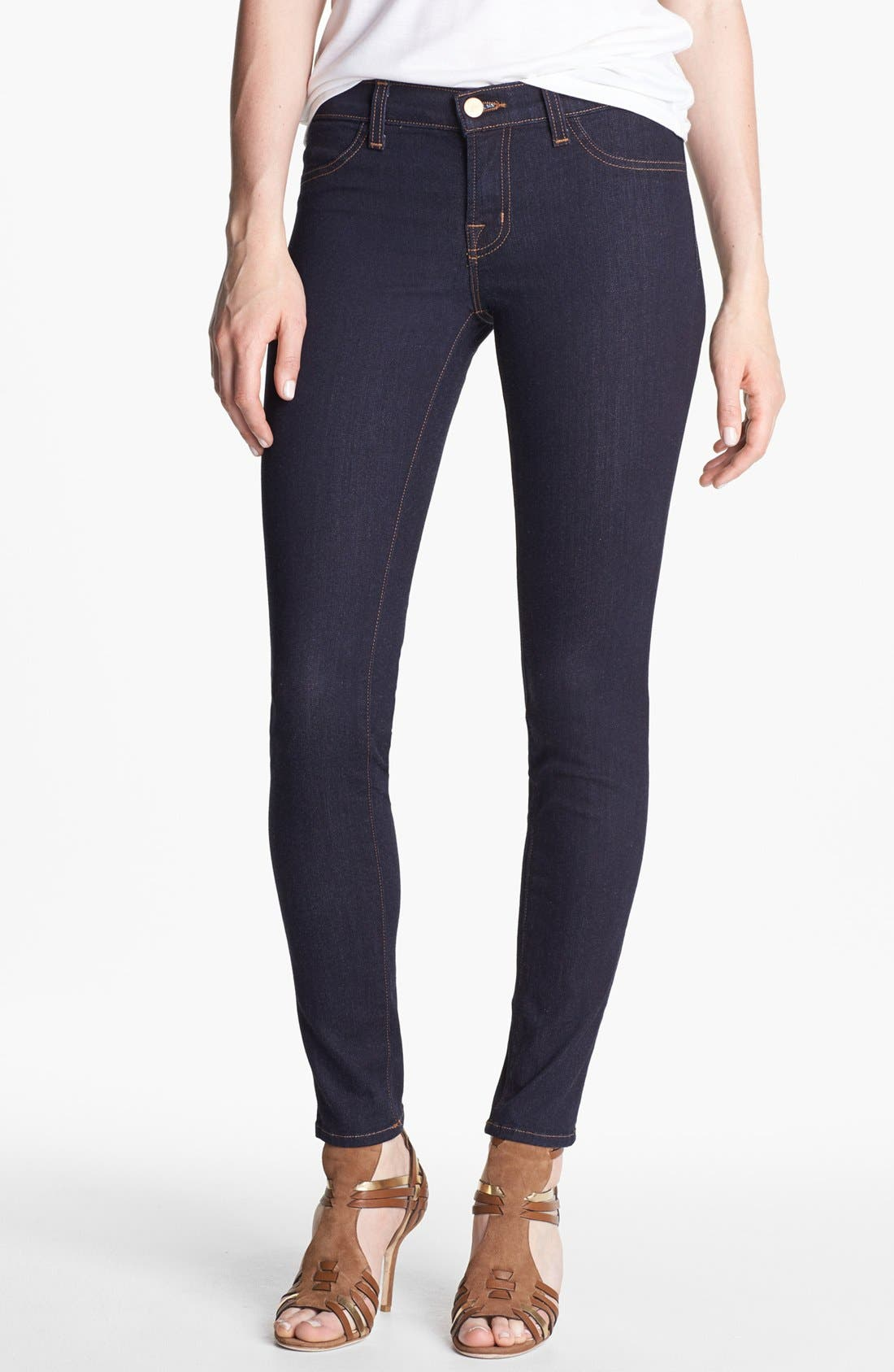 Alternate Image 1 Selected - J Brand '901' Stretch Denim Leggings (Starless Wash)