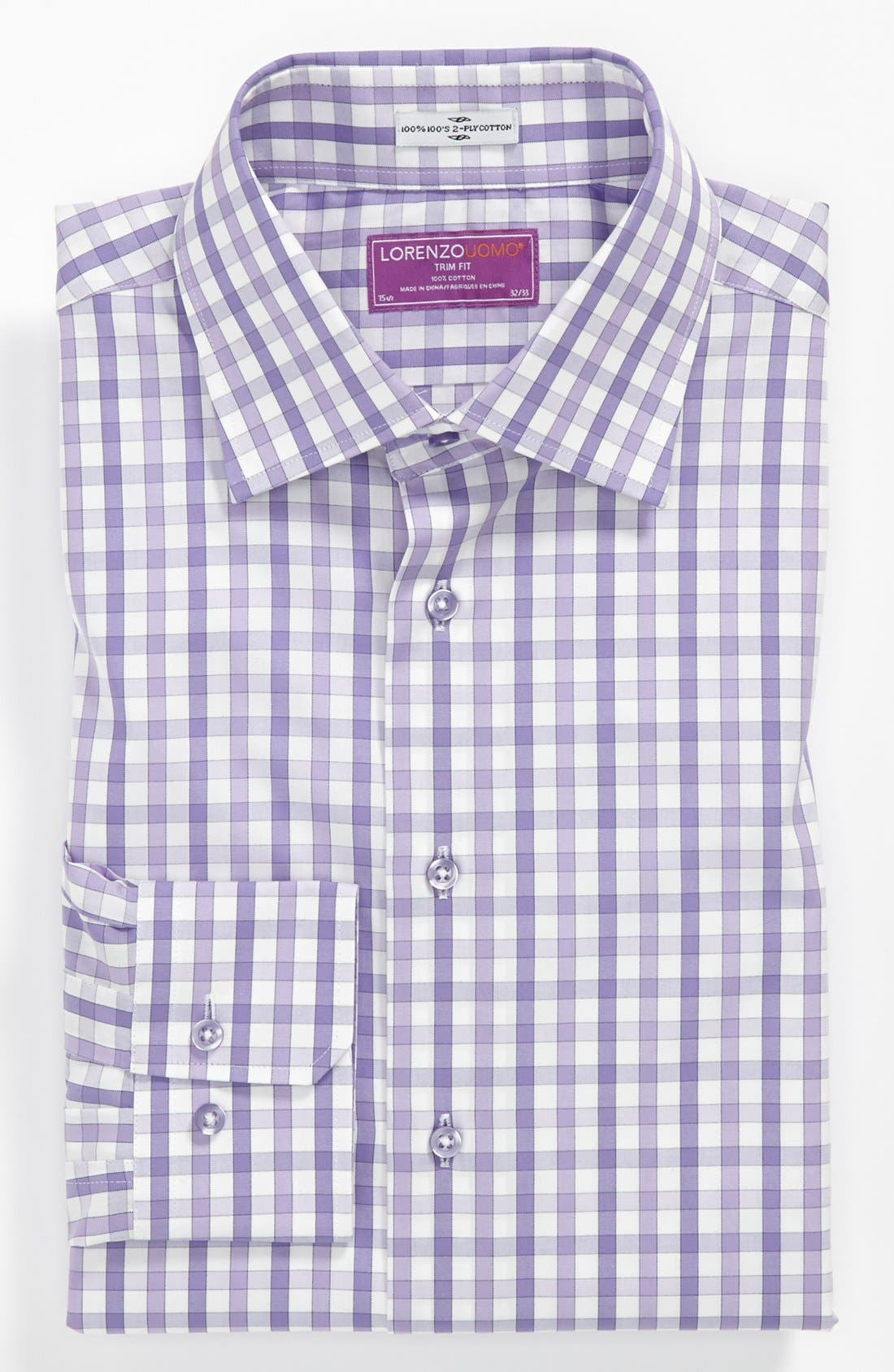 Alternate Image 1 Selected - Lorenzo Uomo Trim Fit Dress Shirt