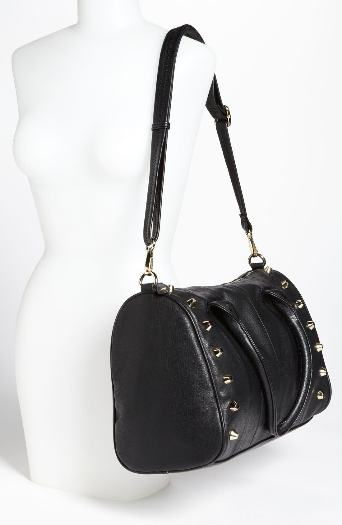 Alternate Image 2  - Emperia Studded Faux Leather Barrel Bag, Large