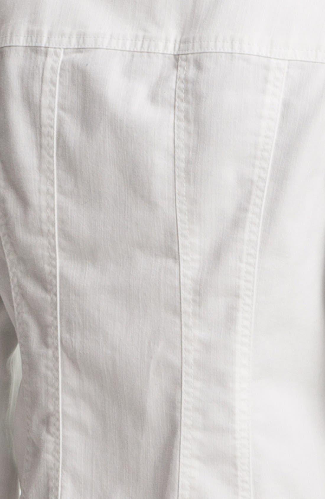 Alternate Image 4  - Amber Sun Modern Denim Jacket