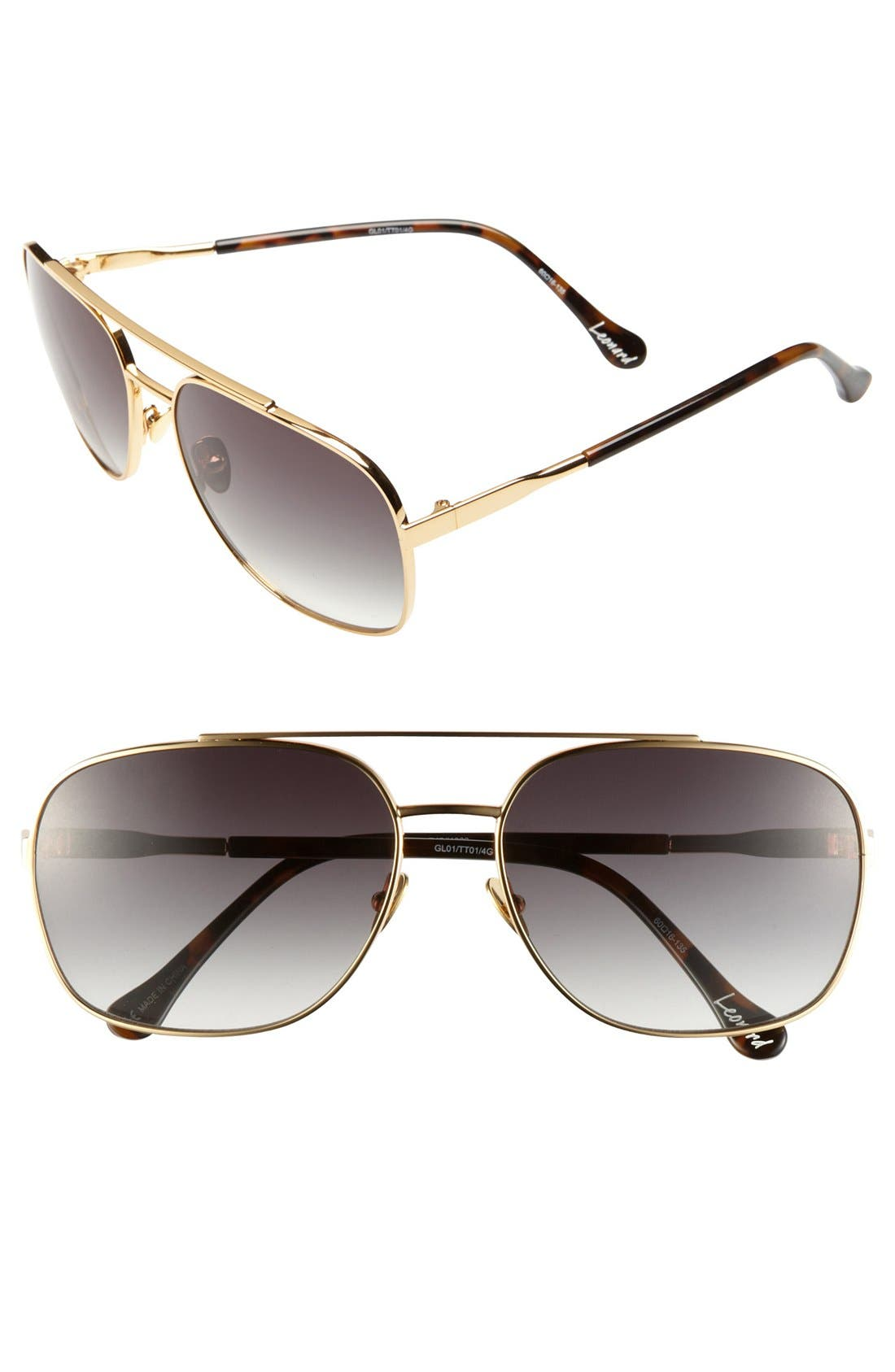 Alternate Image 1 Selected - Elizabeth and James 'Leonard' 60mm Sunglasses