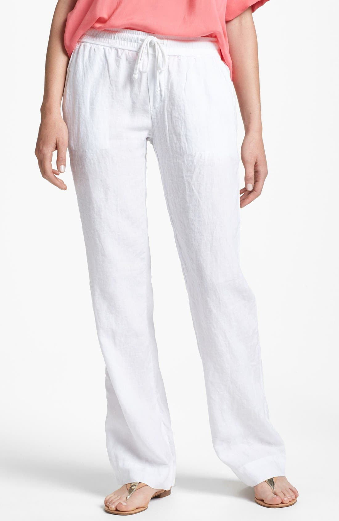 Alternate Image 1 Selected - James Perse Linen Pants