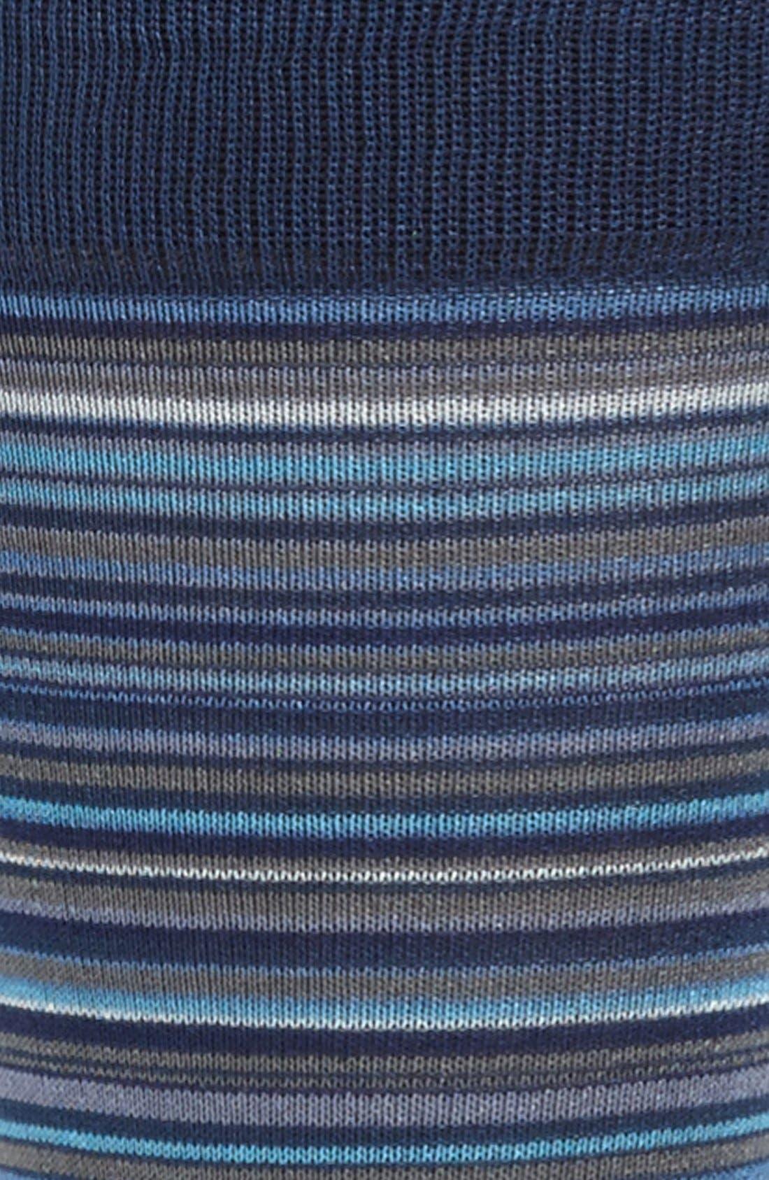 Alternate Image 2  - Marcoliani 'Mirage' Stripe Socks