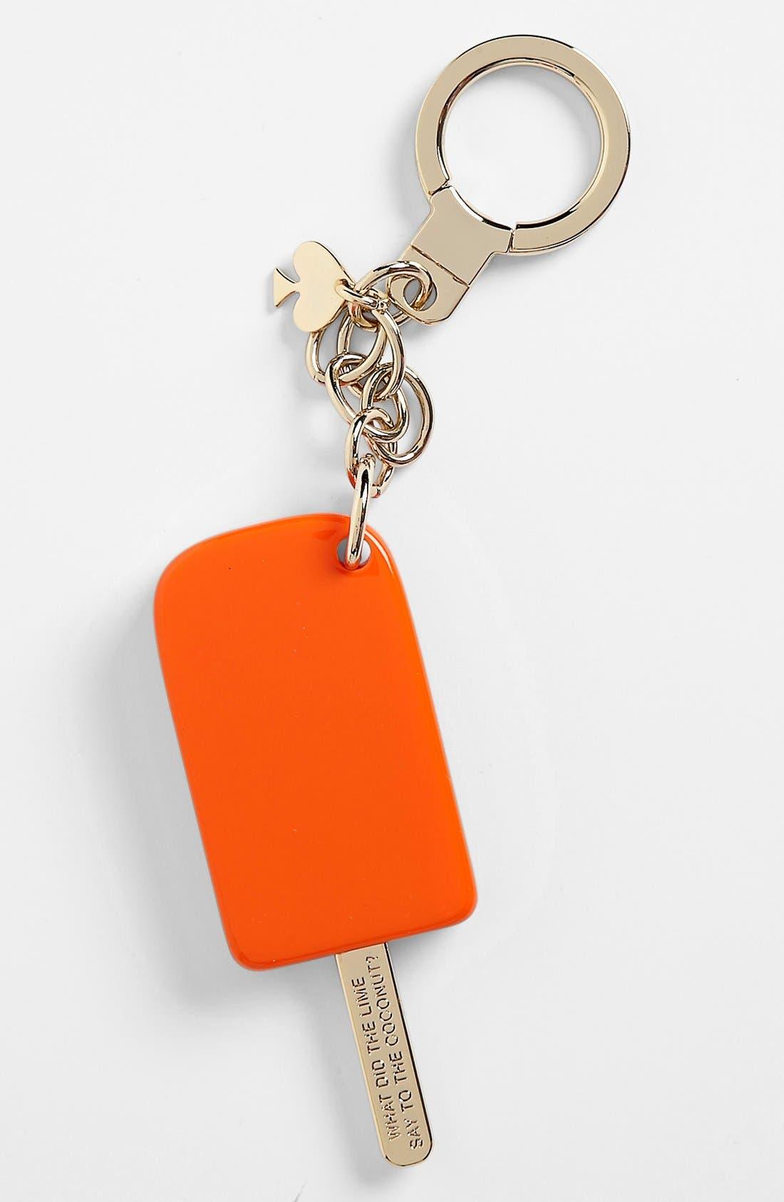 Alternate Image 1 Selected - kate spade new york 'popsicle' key ring