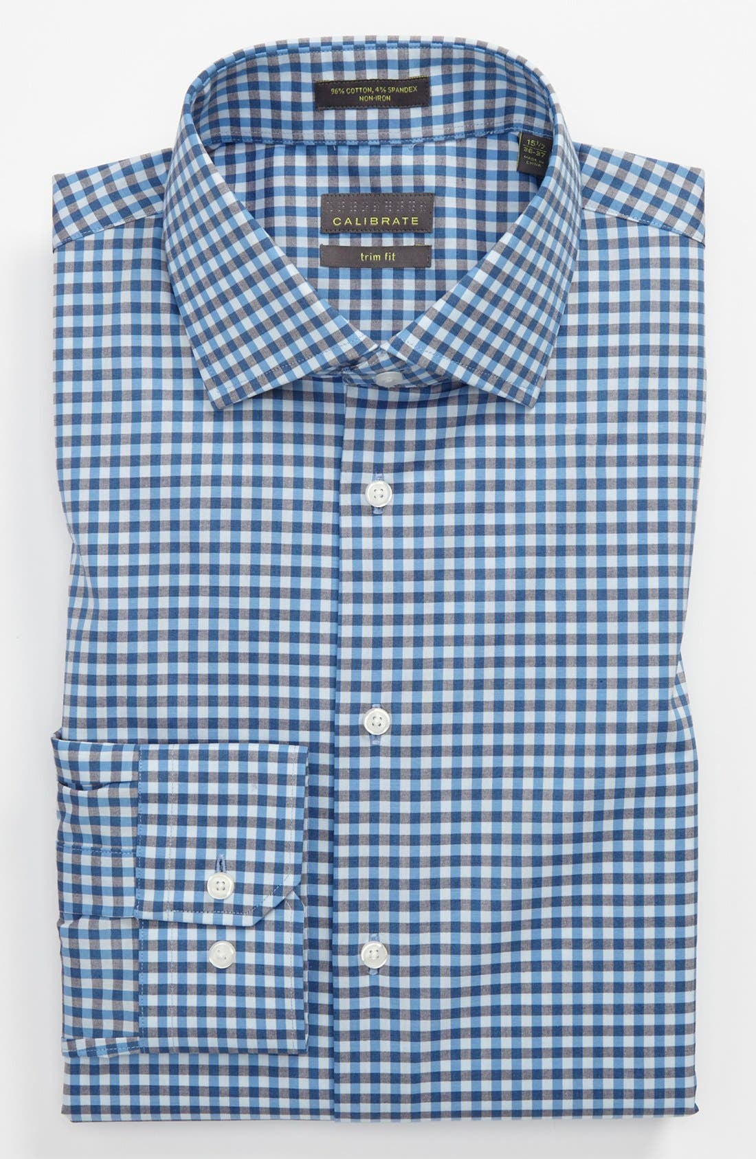 Main Image - Calibrate Trim Fit Dress Shirt