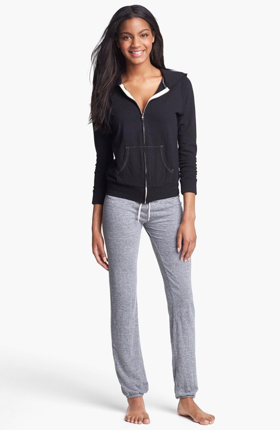 Alternate Image 3  - Monrow Vintage Granite Jersey Sweatpants