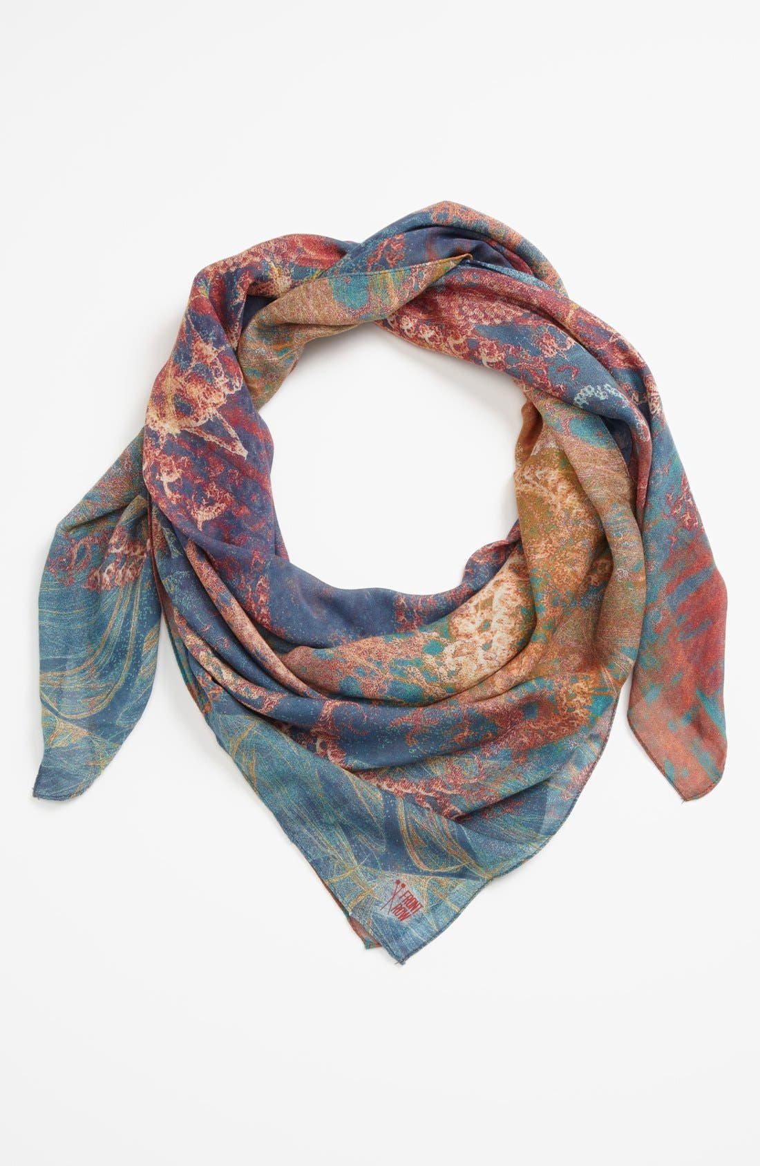 Alternate Image 1 Selected - Front Row Society 'Coral Melody' Scarf