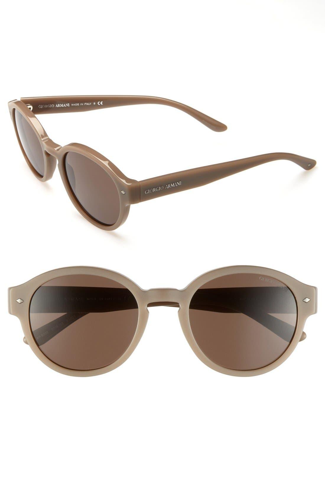 Alternate Image 1 Selected - Giorgio Armani 51mm Sunglasses