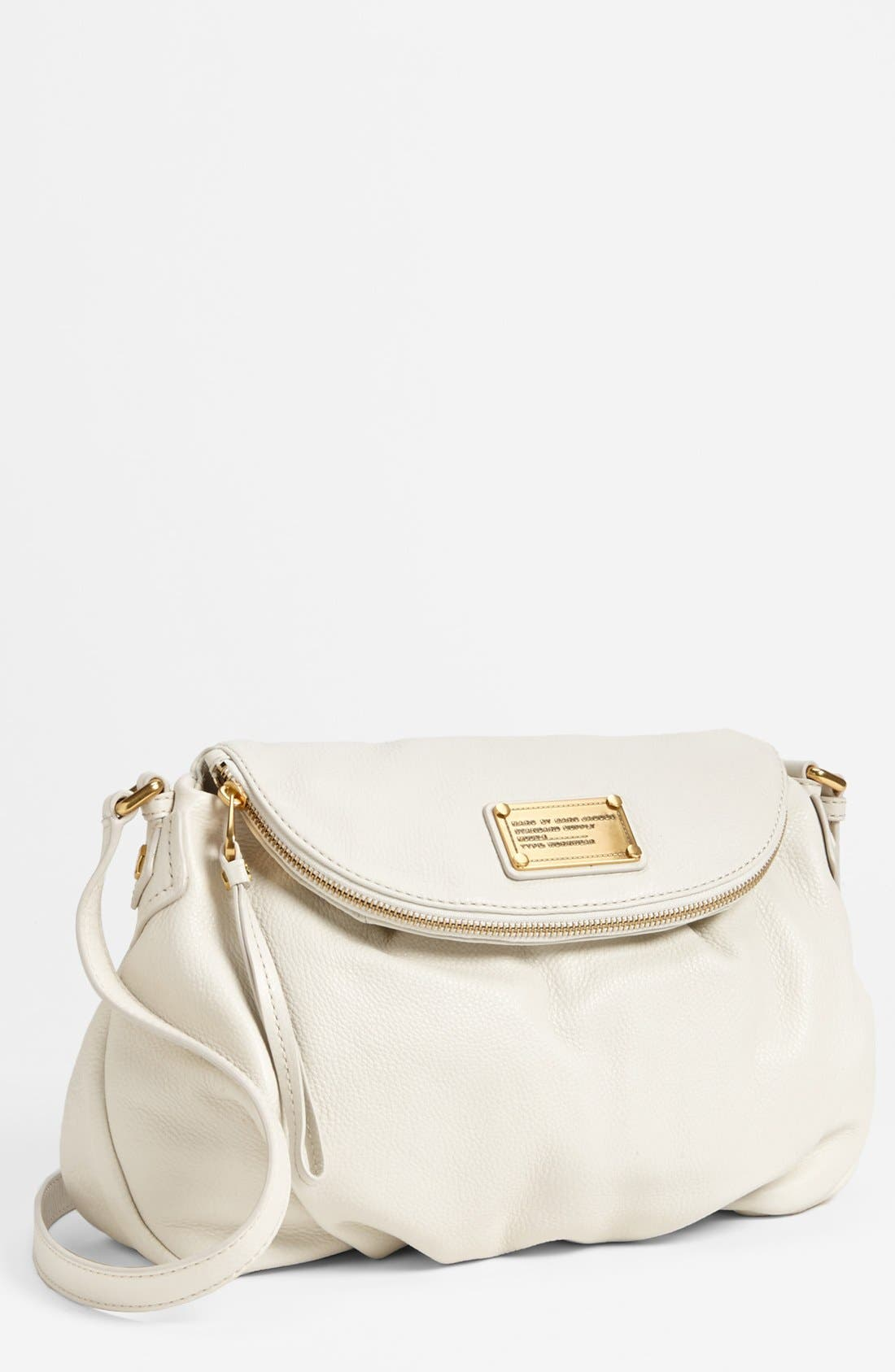 Main Image - MARC BY MARC JACOBS 'Classic Q - Natasha' Crossbody Flap Bag, Medium