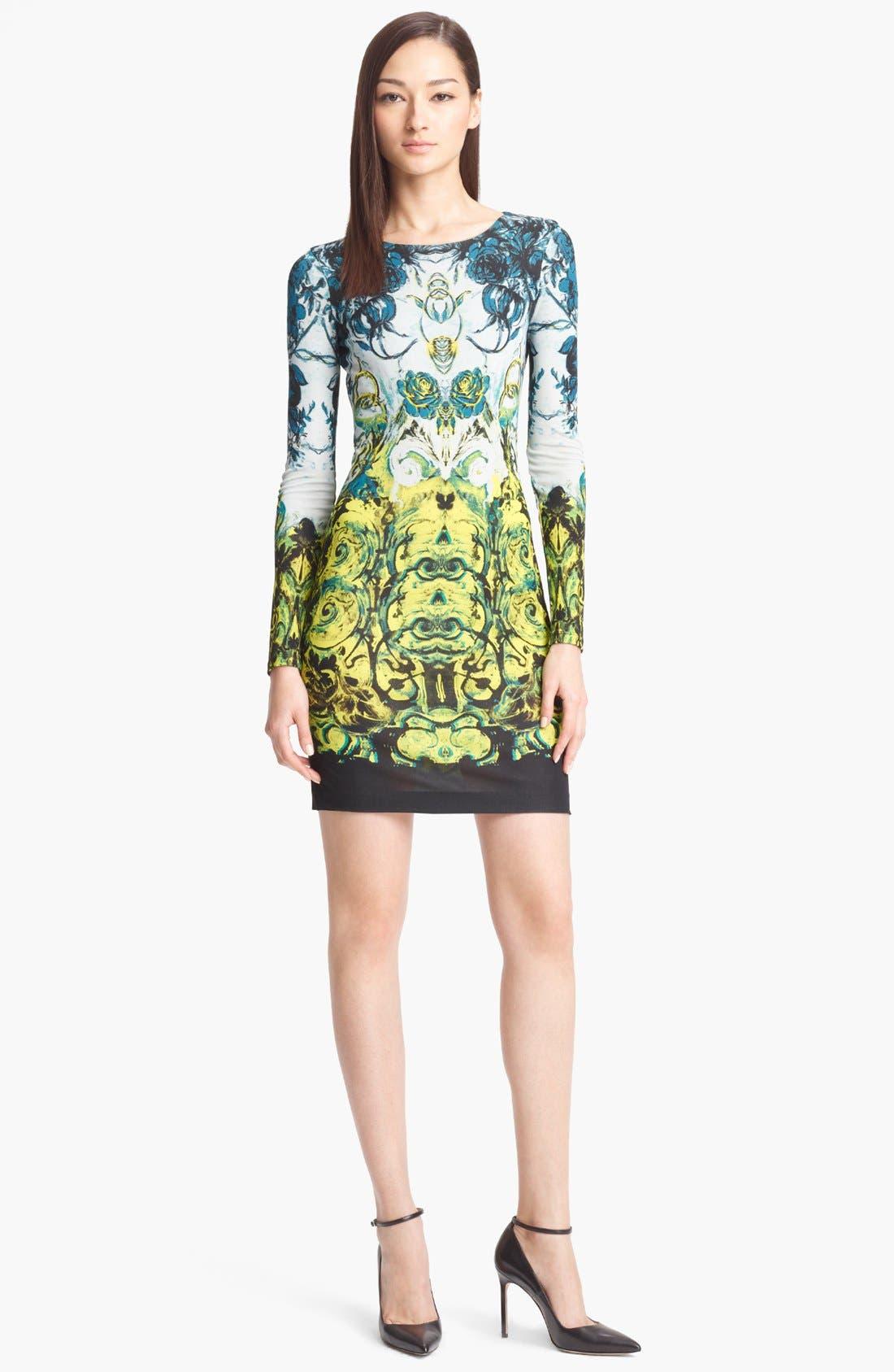 Main Image - Roberto Cavalli 'Novella Print' Jersey Dress
