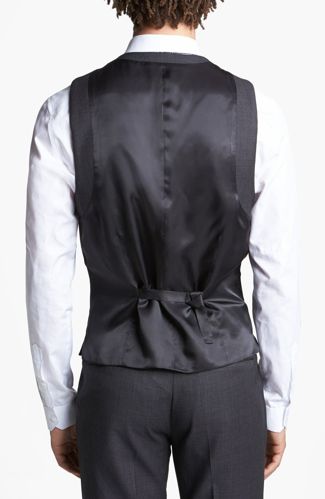 Alternate Image 2  - Topman Slim Fit Vest