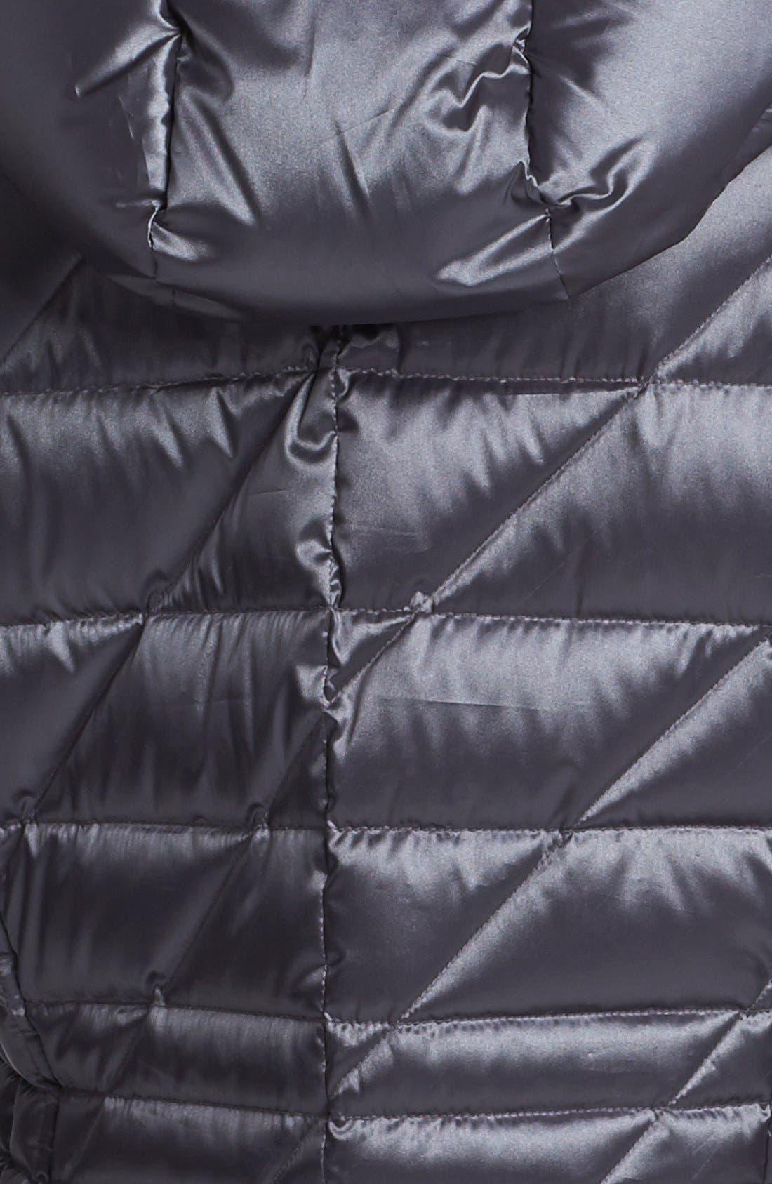 Alternate Image 3  - Bernardo Hooded Packable Goose Down Walking Coat (Regular & Petite) (Nordstrom Exclusive)