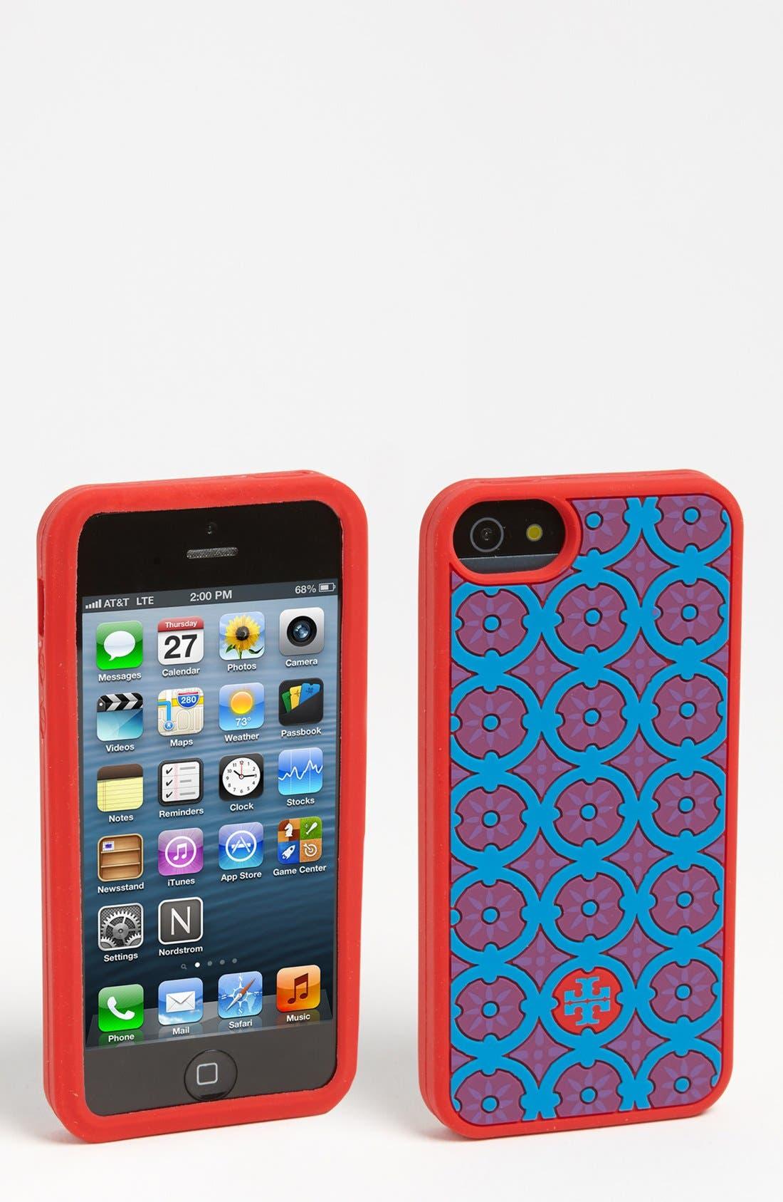 Main Image - Tory Burch 'Halland' iPhone 5 Case