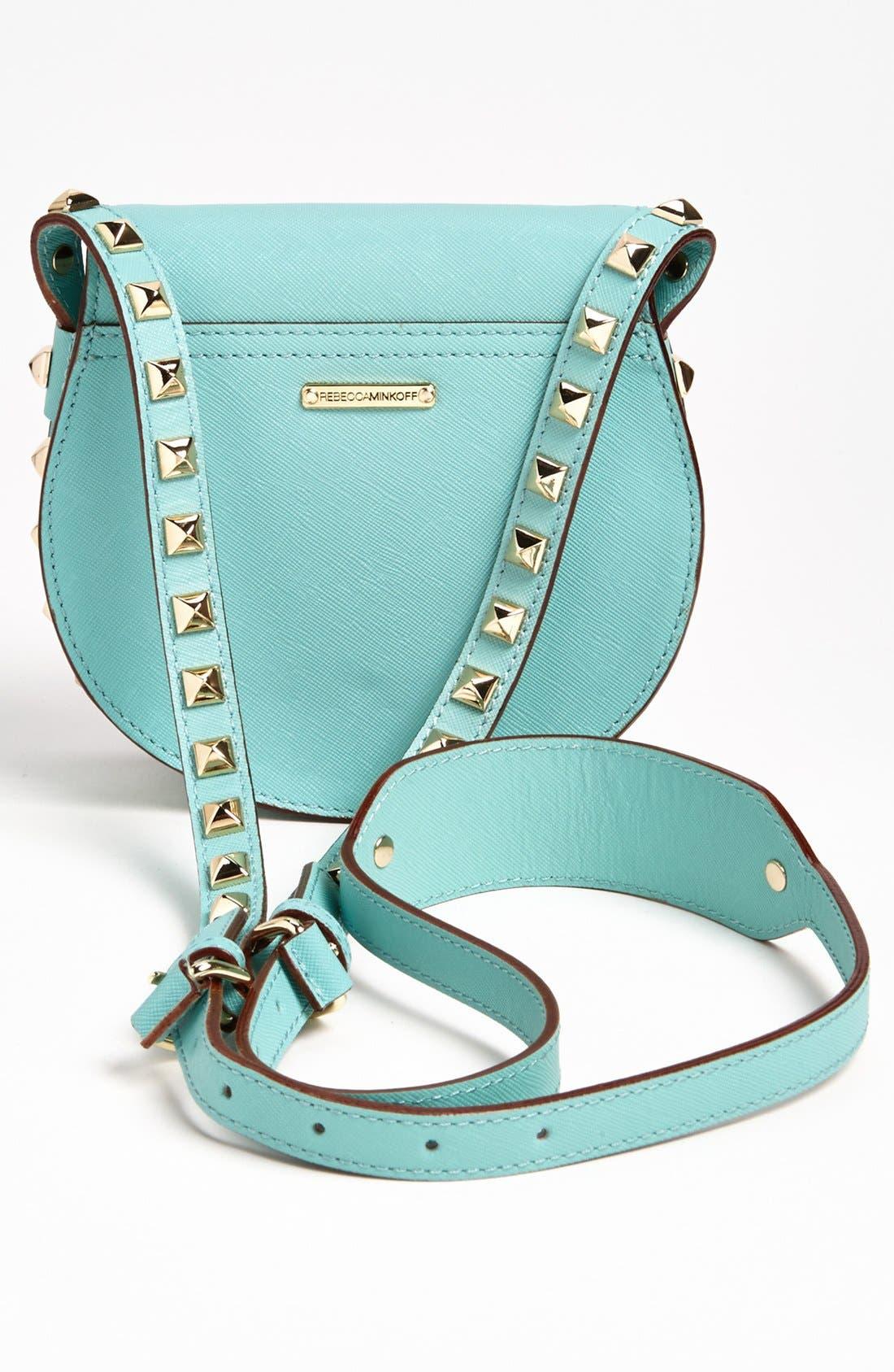 Alternate Image 3  - Rebecca Minkoff 'Skylar - Mini' Leather Crossbody Bag