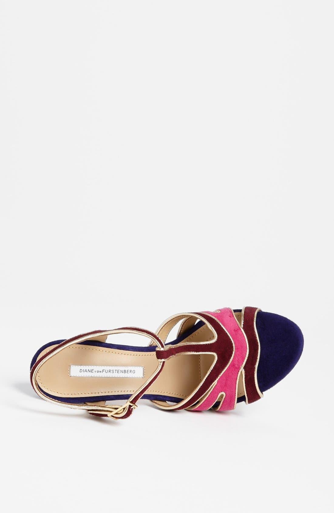 Alternate Image 4  - Diane von Furstenberg 'Julip' Sandal (Online Only)