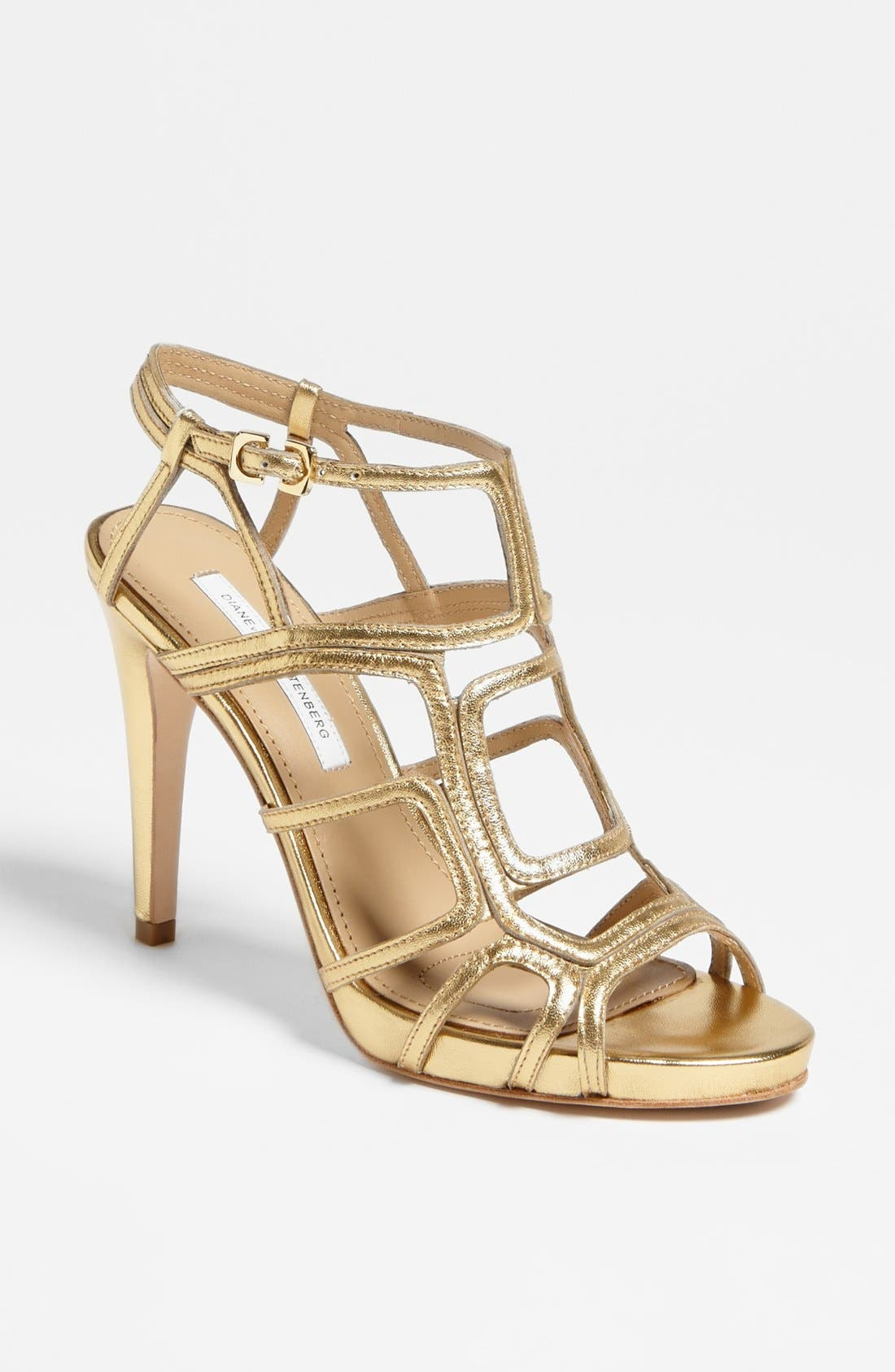 Alternate Image 1 Selected - Diane von Furstenberg 'Jeanette' Sandal (Online Only)