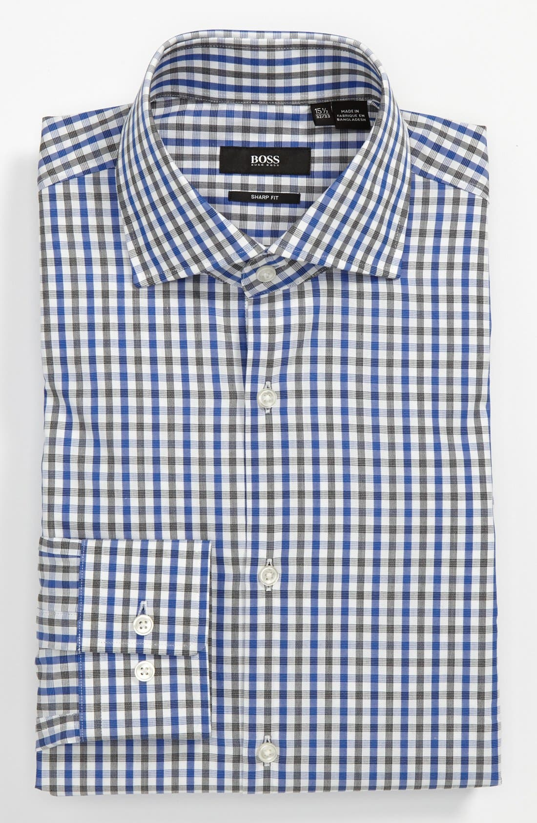 Alternate Image 1 Selected - BOSS HUGO BOSS 'Miles' Sharp Fit Dress Shirt