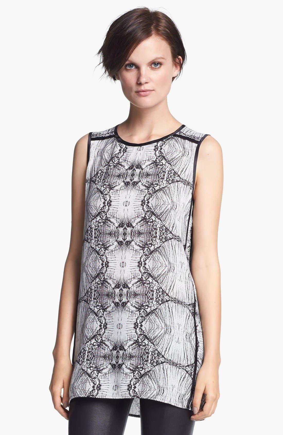 Alternate Image 1 Selected - J Brand Ready-to-Wear 'Ranjini' Sketch Print Tunic