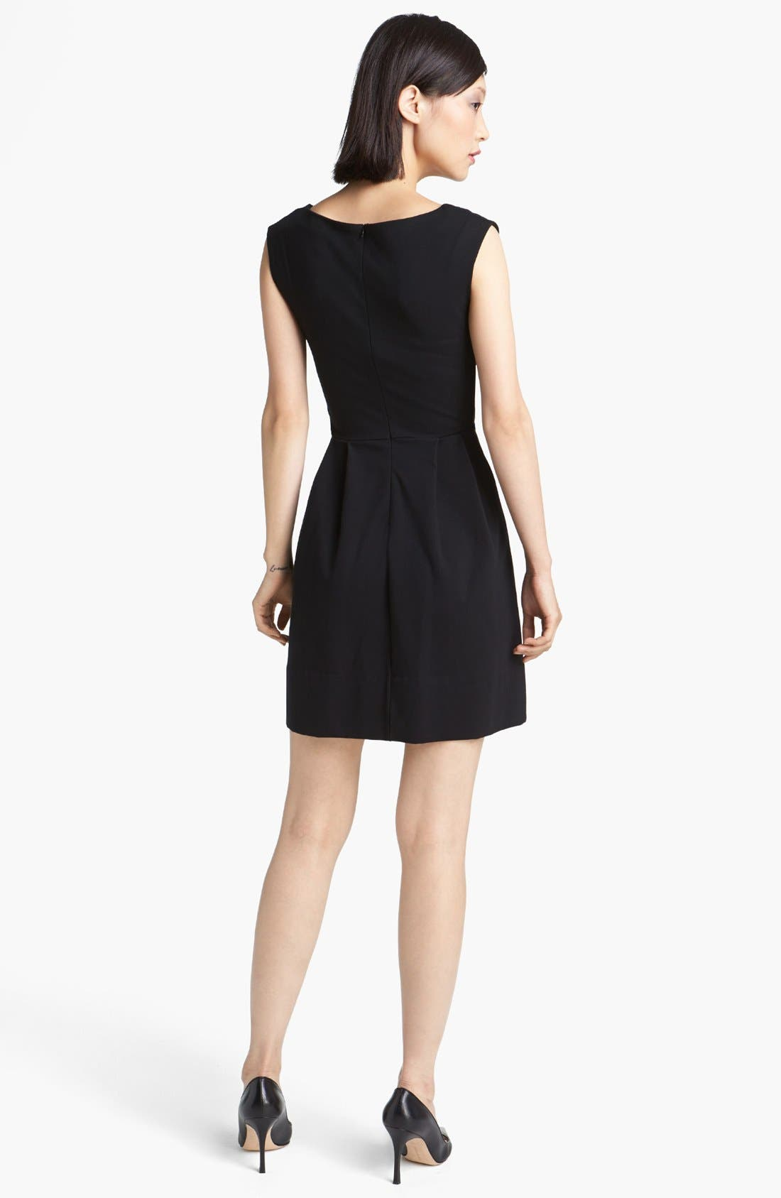 Alternate Image 2  - MARC BY MARC JACOBS 'Sophia' Ponte Fit & Flare Dress
