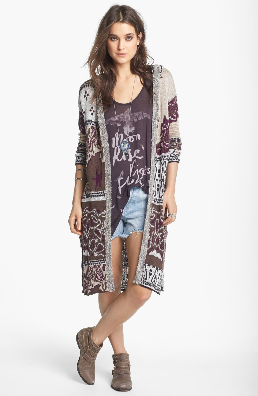 Alternate Image 1 Selected - Free People 'Bandana' Cardigan