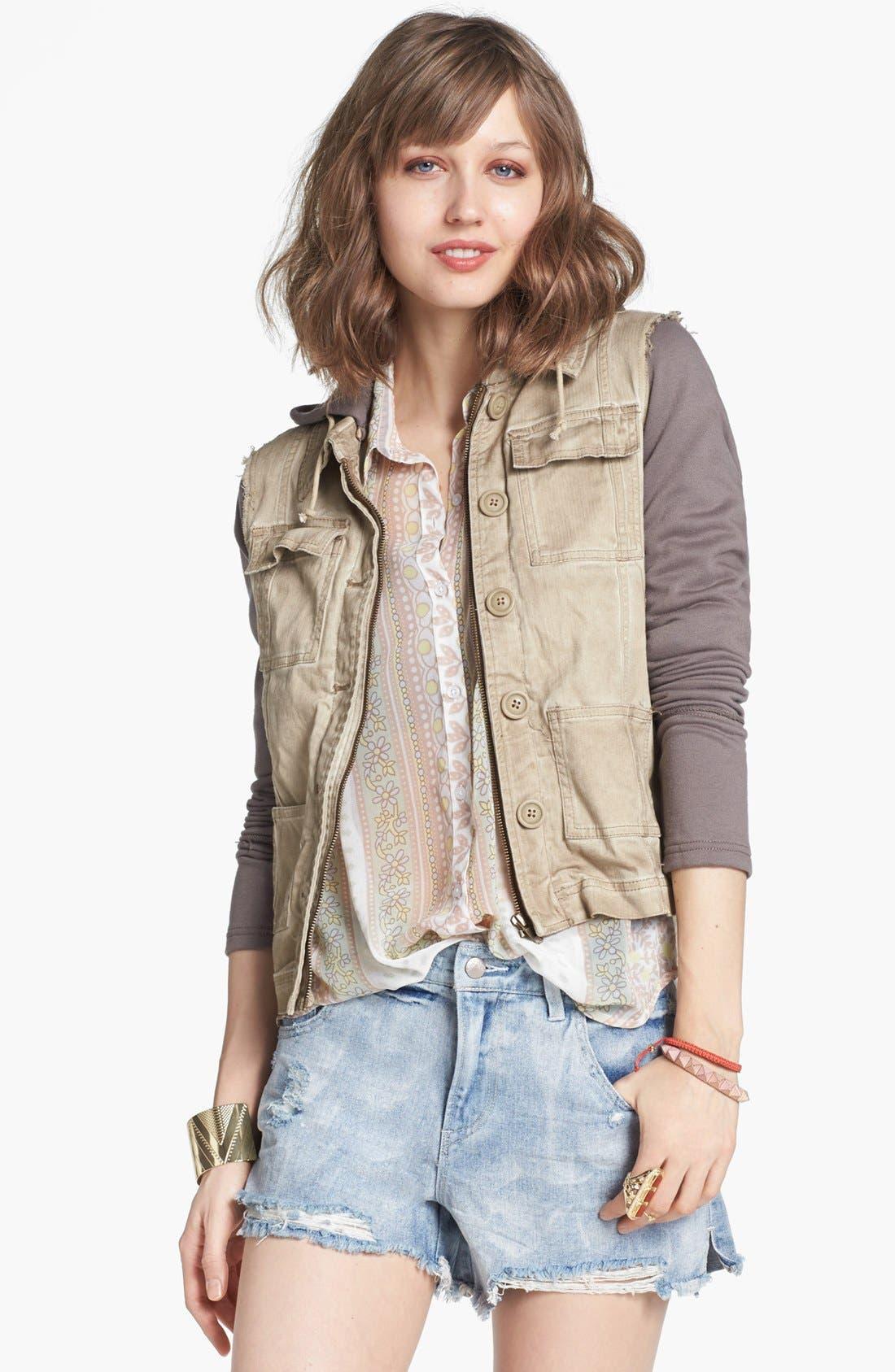 Alternate Image 1 Selected - Free People Twill Jacket
