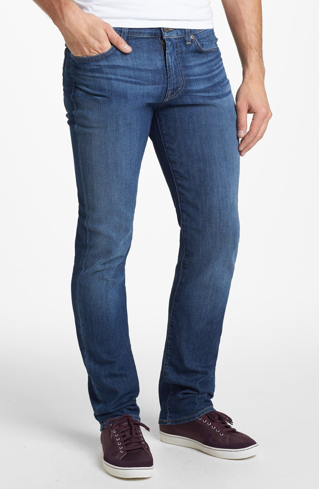 Alternate Image 2  - 7 For All Mankind® 'Slimmy' Slim Fit Jeans (Maricopa Springs)