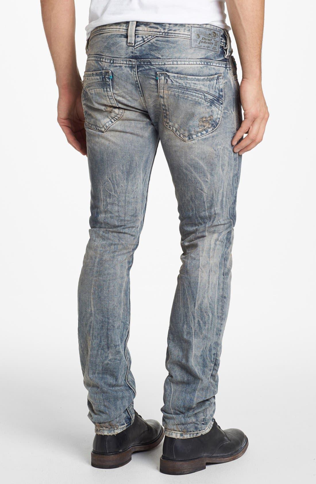 Alternate Image 1 Selected - DIESEL® 'Thanaz' Skinny Fit Jeans (0813Z)