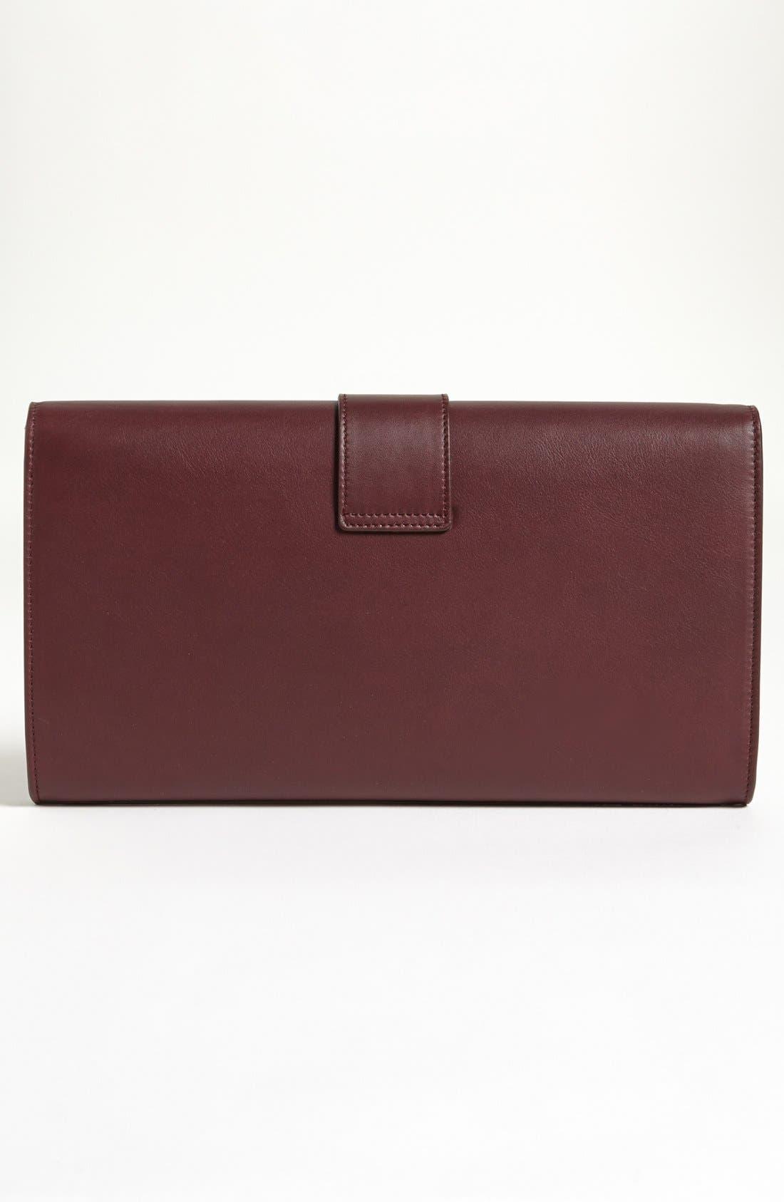 Alternate Image 3  - Saint Laurent 'Y' Leather Clutch