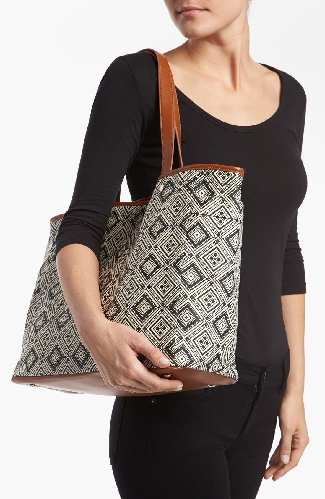 Alternate Image 2  - Tarnish Graphic Canvas Tote