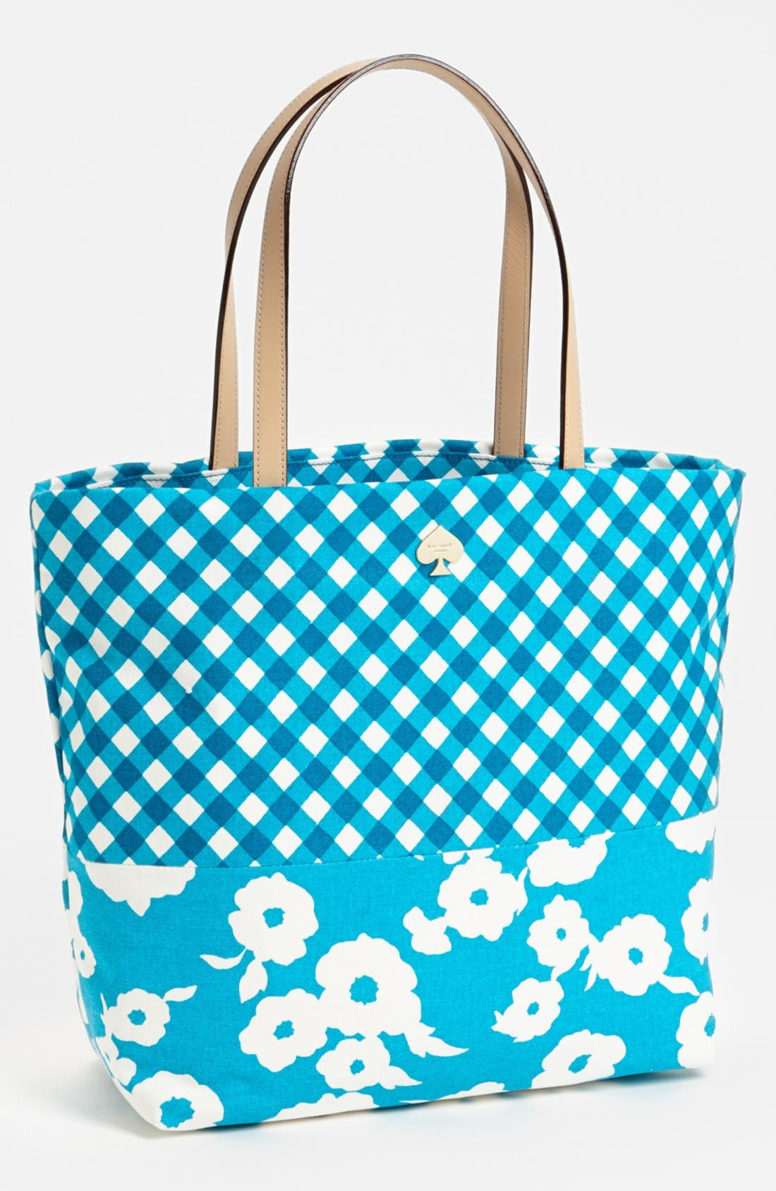 Alternate Image 1 Selected - kate spade new york 'day tripper' canvas bon shopper
