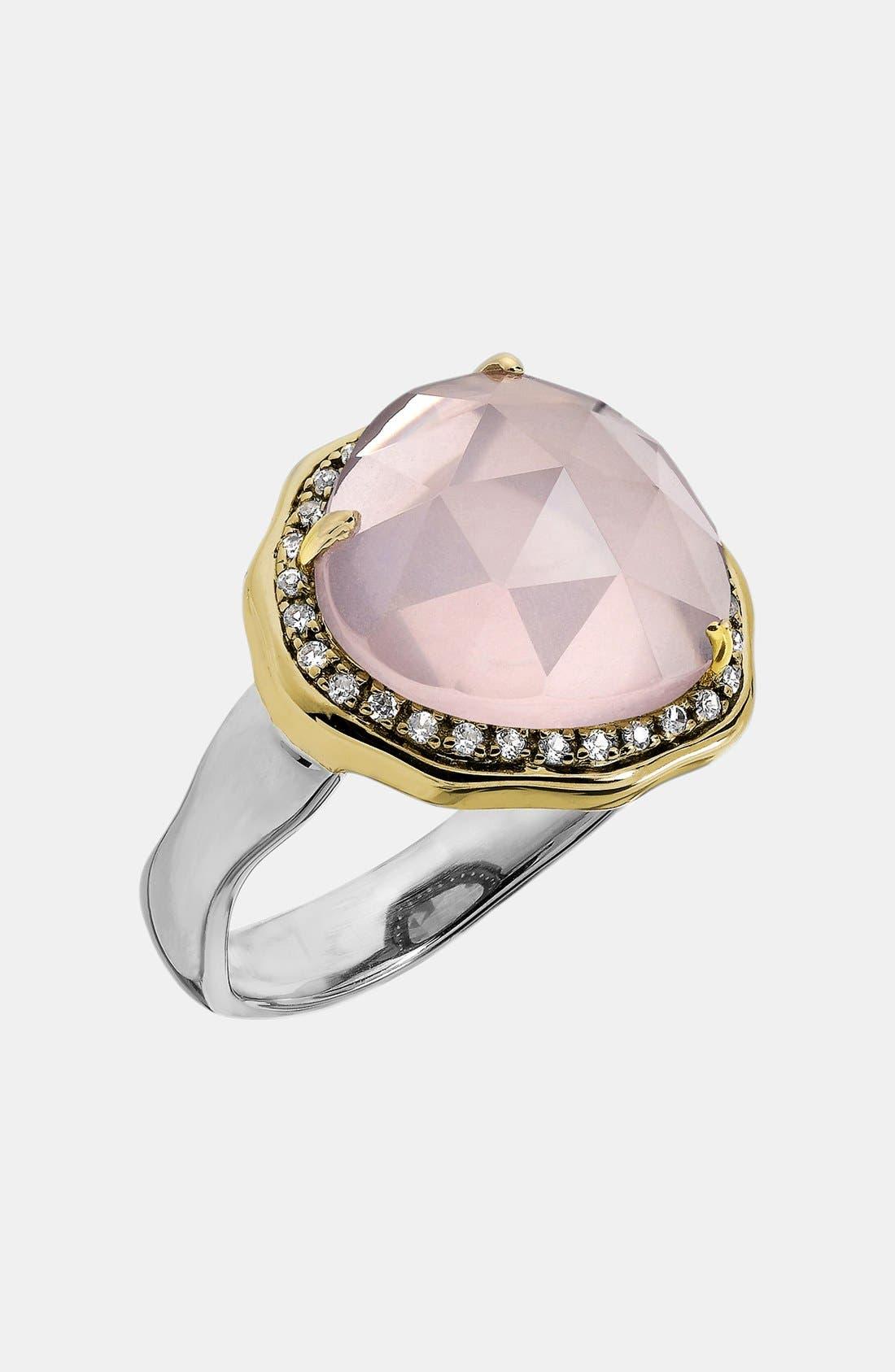 Alternate Image 1 Selected - Whitney Stern Stone & Diamond Cocktail Ring