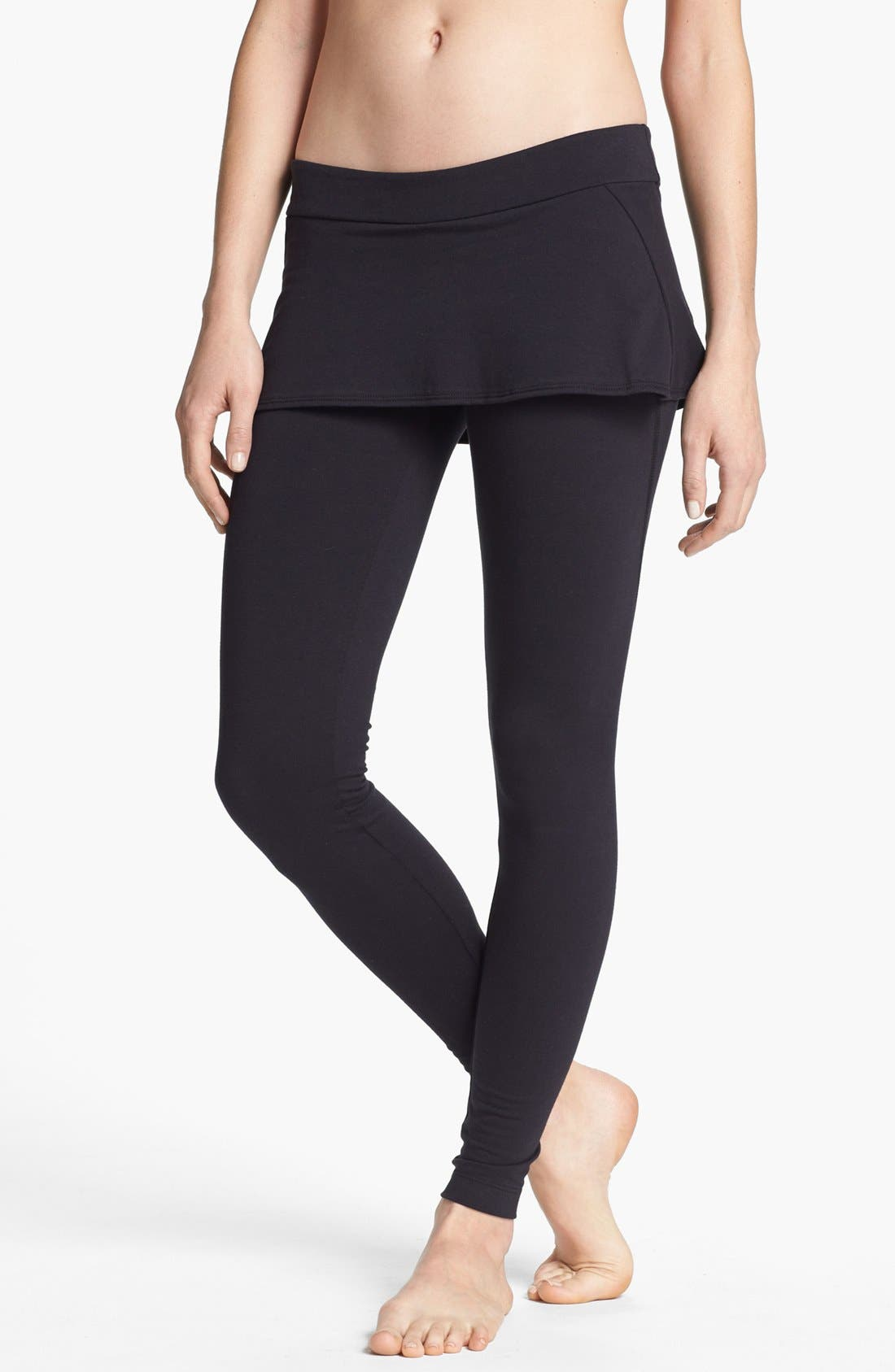 Alternate Image 1 Selected - Unit-Y Peplum Leggings