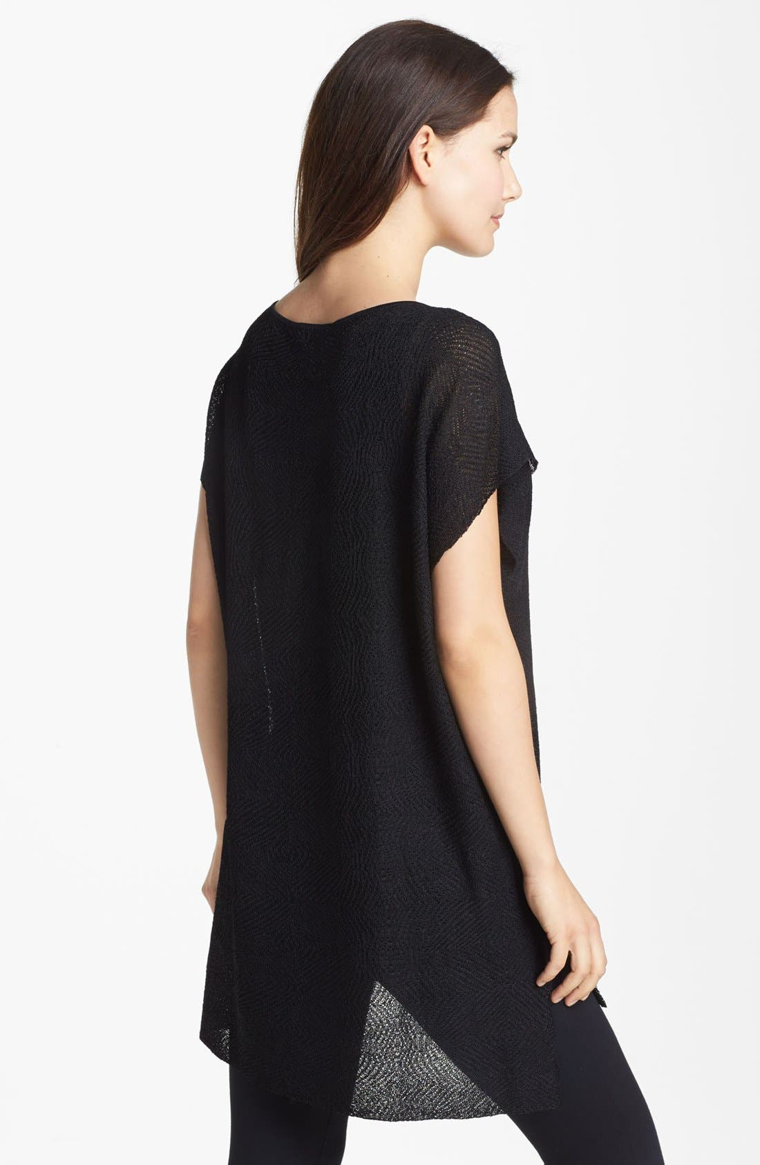 Alternate Image 2  - Eileen Fisher Bateau Neck Tunic