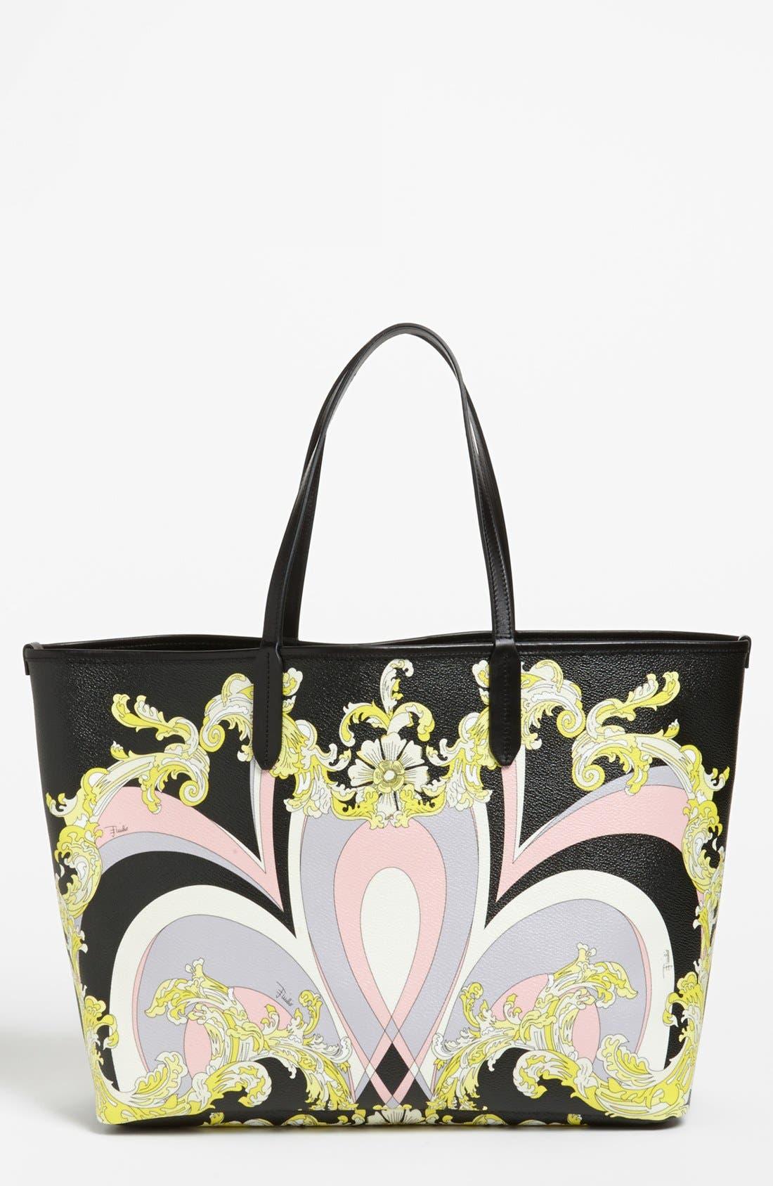 Main Image - Emilio Pucci 'Large' Shopping Tote