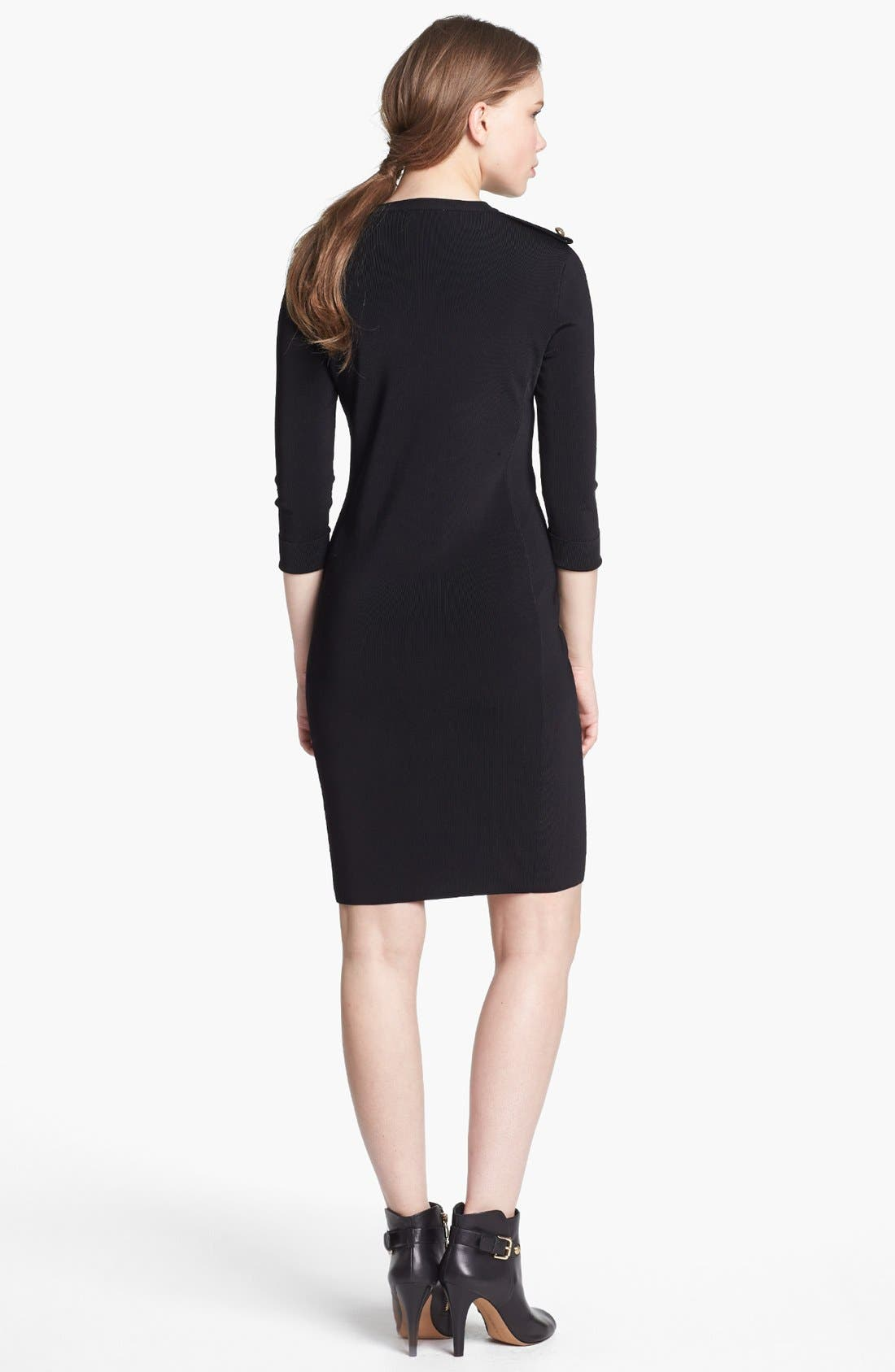 Alternate Image 2  - Vince Camuto Military Sweater Dress (Online Only)