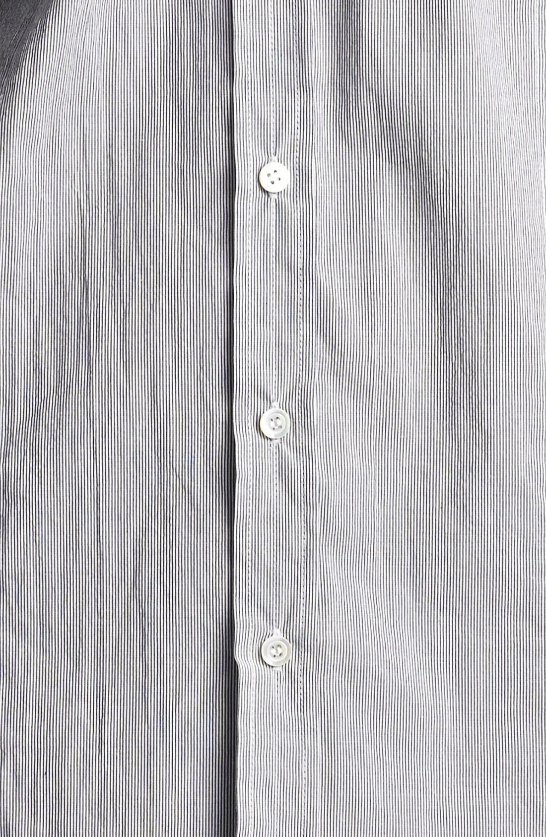 Alternate Image 3  - Billy Reid 'Sullivan' Stripe Sport Shirt