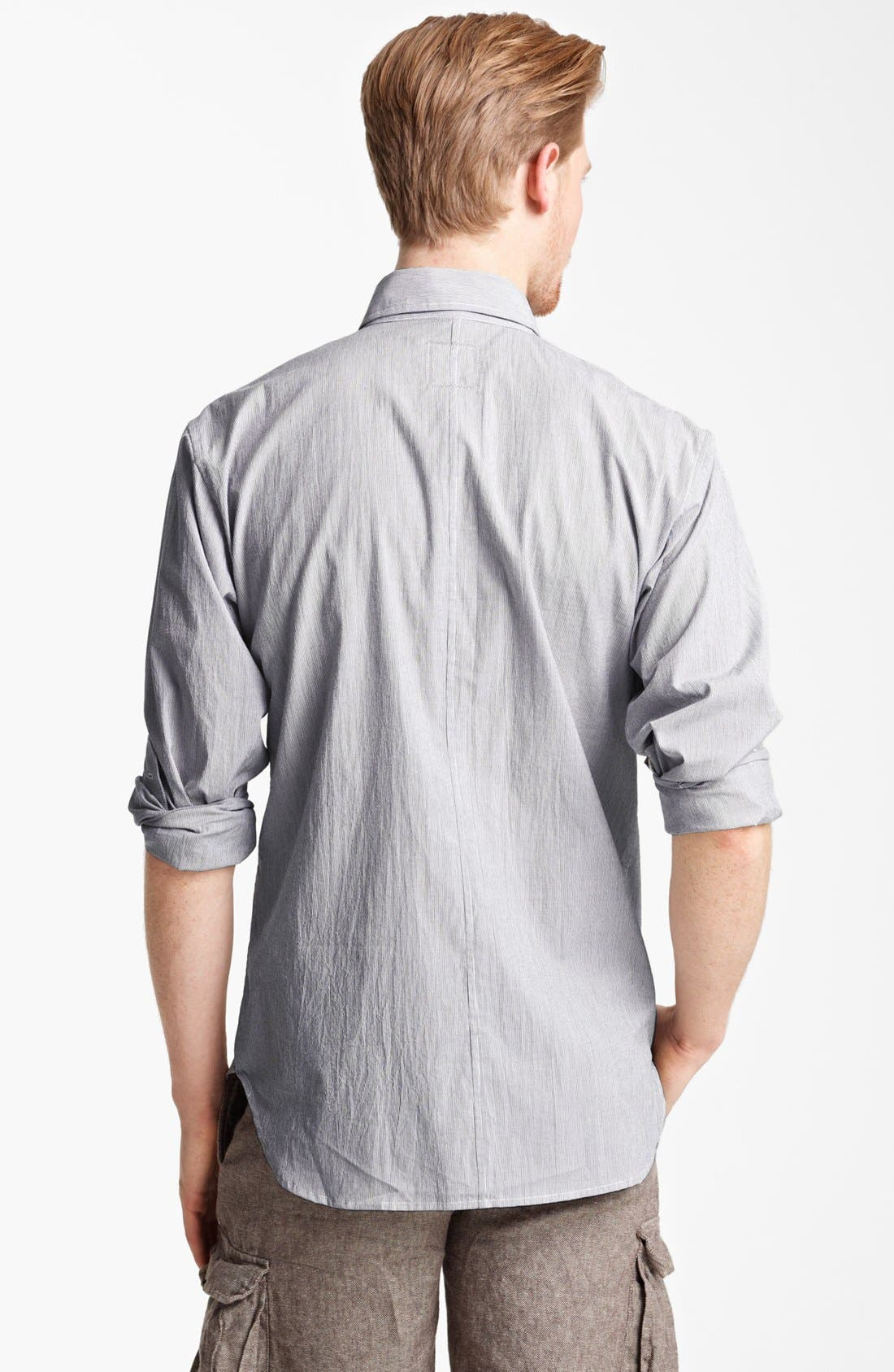 Alternate Image 2  - Billy Reid 'Sullivan' Stripe Sport Shirt