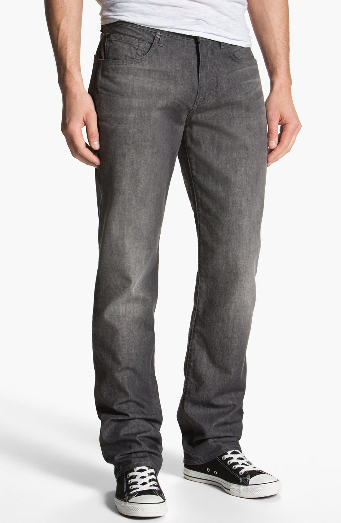 Alternate Image 2  - 7 For All Mankind® 'Carsen' Straight Leg Jeans (Sulfur Springs)