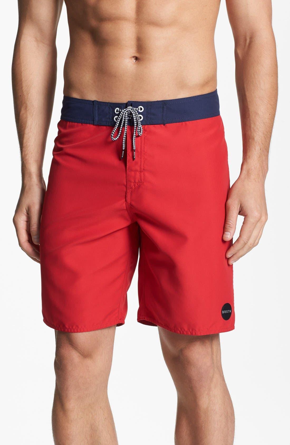 Main Image - Brixton 'Plank' Board Shorts