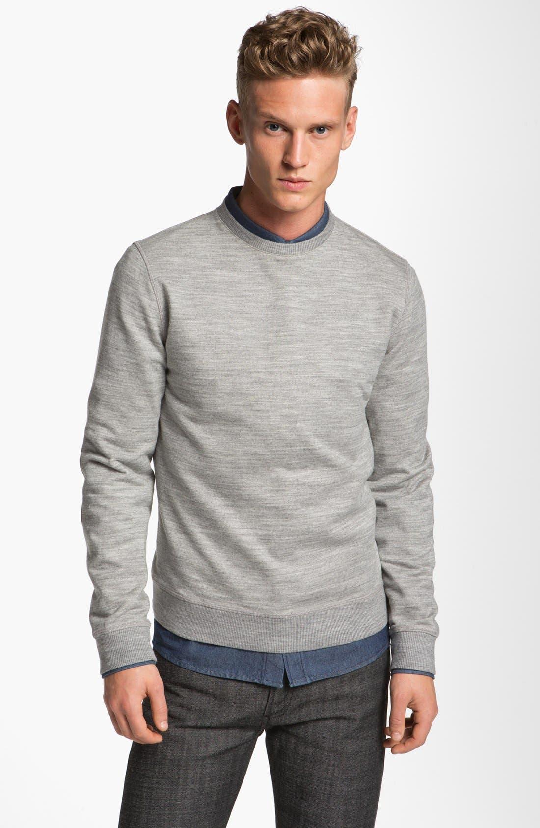 Main Image - A.P.C. Crewneck Sweatshirt