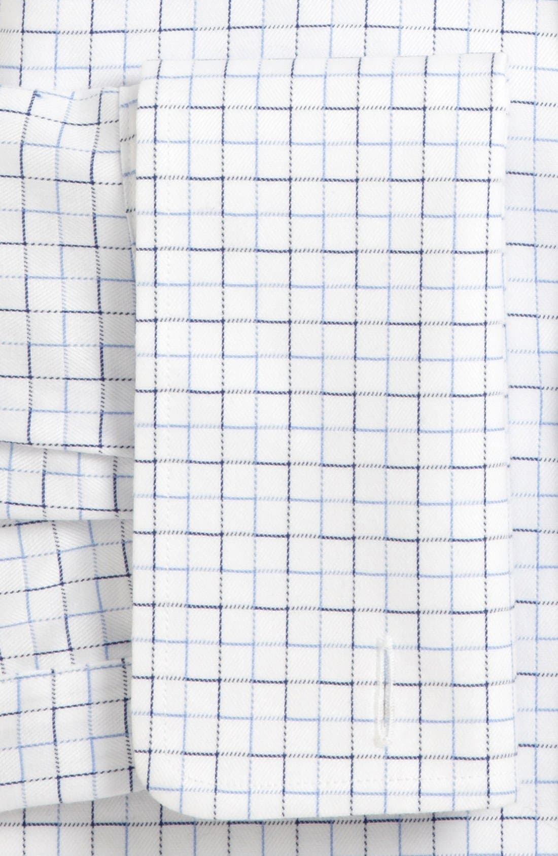 Alternate Image 2  - David Donahue Trim Fit French Cuff Dress Shirt